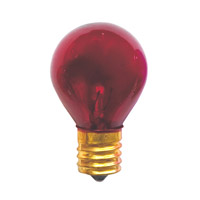 Bulbrite Specialty S11 Intermediate Base Bulb in Red 10S11TR