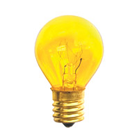 Bulbrite Specialty S11 Intermediate Base Bulb in Yellow 10S11TY
