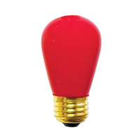 Bulbrite Specialty S14 Medium Base Bulb in Red 11S14CR