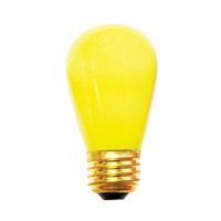 Bulbrite Specialty S14 Medium Base Bulb in Yellow 11S14CY