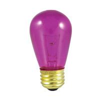 Bulbrite 11S14TF-25PK Sign & Night Light Incandescent S14 E26 11 watt 130V 2700K Bulb Pack of 25