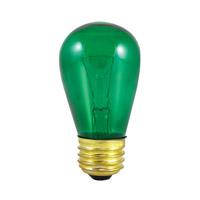 Bulbrite 11S14TG-25PK Sign & Night Light Incandescent S14 E26 11 watt 130V Bulb Pack of 25
