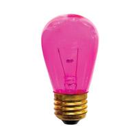 Bulbrite 11S14TPK-25PK Sign & Night Light Incandescent S14 E26 11 watt 130V Bulb Pack of 25