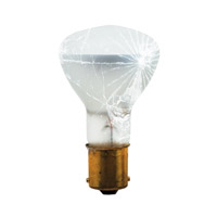 Shatter Resistant Incandescent R12 BA15s 20 watt 13V 2700K Bulb, Tough Coat, Pack of 10