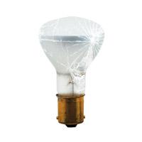 Bulbrite 1383/TF-10PK Shatter Resistant Incandescent R12 BA15s 20 watt 13V 2700K Bulb Tough Coat Pack of 10