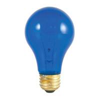 Bulbrite 25A/TB-18PK Colored Lamps Incandescent A19 E26 25 watt 120V Bulb Pack of 18