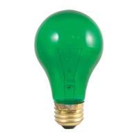 Bulbrite 25A/TG-18PK Colored Lamps Incandescent A19 E26 25 watt 120V Bulb Pack of 18