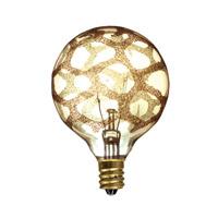 Bulbrite 25G16/MAR/E12-6PK Crystal Collection Incandescent G16.5 E12 25.00 watt 120 Bulb Pack of 6