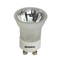Bulbrite 35MR11/GU10F MRs Halogen MR11 GU10 35 watt 120V 2700K Bulb in Frost, Flood photo thumbnail
