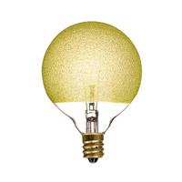 Bulbrite 40G16/ICE/E12-6PK Crystal Incandescent G16.5 E12 40 watt 120V Bulb Pack of 6