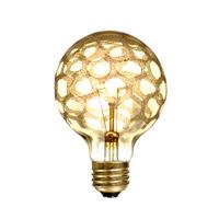 Bulbrite 40G25/MAR-6PK Crystal Collection Incandescent G25 E26 40.00 watt 120 Bulb Pack of 6