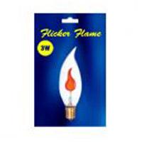 Bulbrite BF3ETC/32 Incandescent Dimmable Incandescent B10 E26 3 watt 130V 2700K Bulb in Clear