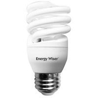 Energy Wiser Coils CFL T2 COIL E26 13 watt 120V 2700K Bulb, Pack of 8