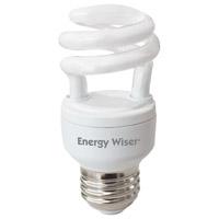 Bulbrite CF5WW/LM-10PK Energy Wiser CFL T2 Coil E26 5.00 watt 120 2700K Bulb
