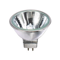 Bulbrite 50MR16C/CG25 Halogen Dimmable Halogen MR16 GU5.3 50 watt 12V 3050K Bulb in Narrow Flood photo thumbnail