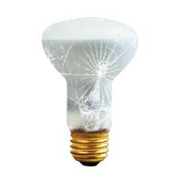 Bulbrite 50R20/TF-6PK Shatter Resistant Incandescent R20 E26 50 watt 130V 2700K Bulb Tough Coat Pack of 6