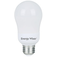 Bulbrite CF15A19/WW-4PK Energy Wiser CFL A19 E26 15.00 watt 120 2700K Bulb Pack of 4