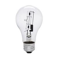 Bulbrite 53A19CL/ECO-12PK A-type Ecohalogen Halogen A19 E26 53 watt 120V 2900K Bulb Pack of 12
