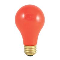 Bulbrite 60A/CO-18PK Colored Lamps Incandescent A19 E26 60 watt 120V Bulb Pack of 18