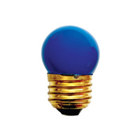Bulbrite Specialty S11 Medium Base Bulb in Blue 7.5S11B