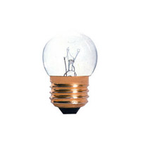Specialty Incandescent S11 E26 7.5 watt 130V 2700K Bulb in Clear