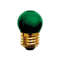 Bulbrite Specialty S11 Medium Base Bulb in Green 7.5S11G