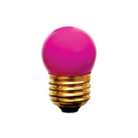 Bulbrite Specialty S11 Medium Base Bulb in Pink 7.5S11P