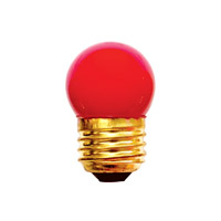 Bulbrite Specialty S11 Medium Base Bulb in Red 7.5S11R