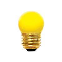 Bulbrite Specialty S11 Medium Base Bulb in Yellow 7.5S11Y