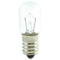 Bulbrite 10T5.5/130-50PK Appliance & Amusement Incandescent T5.5 E14 10 watt 130V 2700K Bulb Pack of 50
