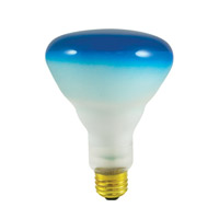 Colored Lamps Incandescent BR30 E26 75 watt 120V Bulb, Pack of 8