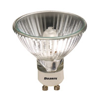 Bulbrite 75W 120V Halogen, MR20 Lensed GU10 Base, Flood 75MR20/GU10F
