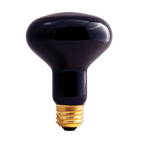Bulbrite 75W Black Light Reflector Bulb 75R25BL