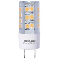 Bulbrite LED4GY8/30K/120/D-2PK Specialty Minis LED T4 GY8 4.50 watt 120 3000K Bulb