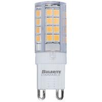 Bulbrite LED4G9/30K/120/D-2PK Specialty Minis LED T6 G9 4.50 watt 120 3000K Bulb