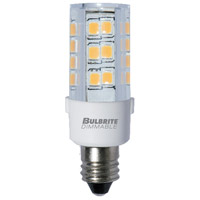 Bulbrite LED4E11/30K/120/D-2PK Specialty Minis LED T4 E11 4.50 watt 120 3000K Bulb