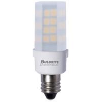 Bulbrite LED4E12/30K/120/F/D-2PK Specialty Minis LED T6 E12 4.50 watt 120 3000K Bulb