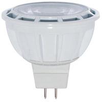 Bulbrite LED8MR16FL35/50/827/D-2PK MRs Dimmable LED MR16 GU5.3 8.00 watt 12 2700K Bulb