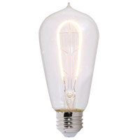 Bulbrite LED4ST18/22K/FIL-NOS/CURV/1890 Nostalgic LED ST18 Filament 4.00 watt 120V 2200K Bulb, Curved thumb