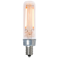 Bulbrite LED2T6/22K/FIL-NOS/2-4PK Filaments LED T6 E12 2.5 watt 120V 2200K Bulb Pack of 4