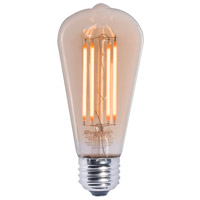 Bulbrite LED7ST18/22K/FIL-NOS/2 Nostalgic LED ST18 Filament 7.00 watt 120V 2200K Bulb thumb