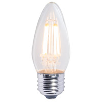 Bulbrite LED4B11/27K/FIL/E26/2-4PK Filaments LED B11 E26 4 watt 120V 2700K Bulb Pack of 4