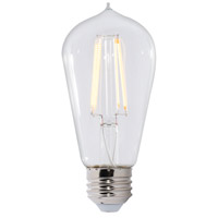 Bulbrite LED7ST18/30K/FIL/2-2PK Filaments LED ST18 E26 7 watt 120V 3000K Bulb Pack of 2