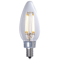 Signature LED B11 Filament E12 4.50 watt 120V 3000K Bulb