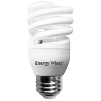 Energy Wiser Coils CFL T2 COIL E26 13 watt 120V 4100K Bulb, Pack of 8