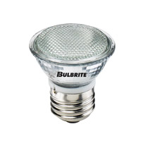 Bulbrite 50W 120V Halogen, MR16 Lensed Medium Base, Flood EXN/E26