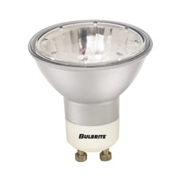 Bulbrite EXN/GU10/SLV MRs Halogen MR16 GU10 50 watt 120V 2700K Bulb in Silver, Flood photo thumbnail