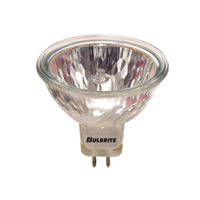 Bulbrite 50W 12V Halogen, MR16 Bi-Pin Lensed, Narrow Flood EXZ/L