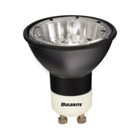 Bulbrite FMW/GU10/BLK MRs Halogen MR16 GU10 35 watt 120V 2700K Bulb in Black photo thumbnail