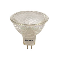 Bulbrite 50W 12V Halogen, MR16 Bi-Pin Lensed, Wide Flood FNV/L